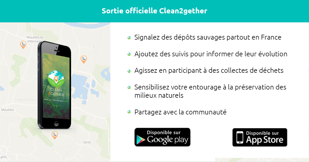 Clean2gether – La sortie Officielle !