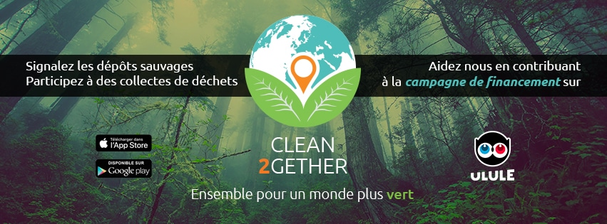 Campagne de financement participatif Clean2gether